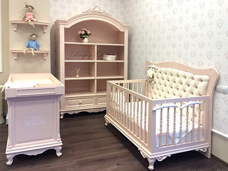 Мебель для детской - шкаф, кроватка, комод с пеленальной доской. продажа из шоурума