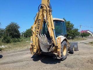 Se vind buldoexcavatoare  N Holland,Komatsu,CAT..si altele
