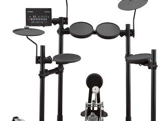 Yamaha DTX452K - Set de tobe electronice, 287 de sunete, 10 kituri de tobe, 10 programe de coaching