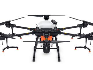 Agro-drone p-u pulverizare și dispersare DJI Agras T20. Агро-дроны для опрыскивания  DJI Agras T20.