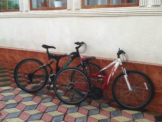 Biciclete Rosie este Apollo ,roti la 26  Armotizator in fata si spate ,