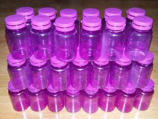 Containere goale din plastic transparent de calitate alimentara. Pret 10 lei/ buc