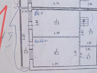 Apartament cu 3 camere, in 2 nivele, in rate pe 5-6 ani
