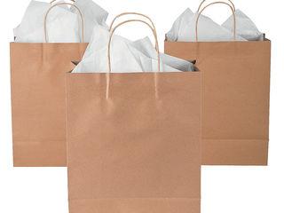 Бумажные пакеты с логотипом от производителя