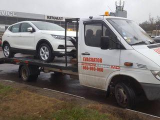 Evacuator 24/24 Servicii Evacuator Chisinau - tractari auto Moldova,