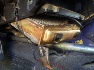 Замена радиатора печки автомобиля