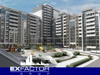 Exfactor Grup - Ciocana 3 camere 95 m2, et. 3 la cel mai bun preț, direct de la dezvoltator!