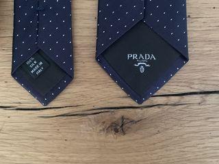 Prada галстук новый 100% шелк