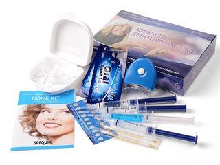 Отбеливающая система Spequix,Professional Home Teeth Whitening Kit!