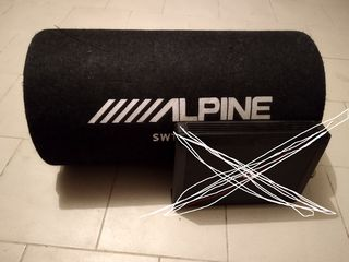 Alpine SWT 12S4 practic nou