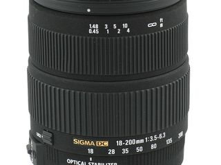 Sigma 18-200mm 1.3,5-6,3 HSM
