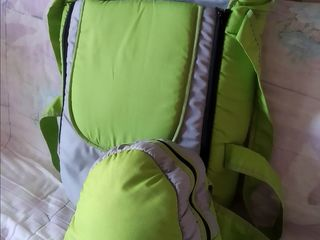 Переноска для малыша и сумка-рюкзак для мамы