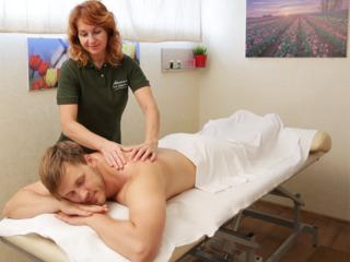 Девушка очень приятный массаж