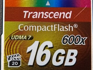 Transcend 16GB SDHC Ultimate 600x Class 10