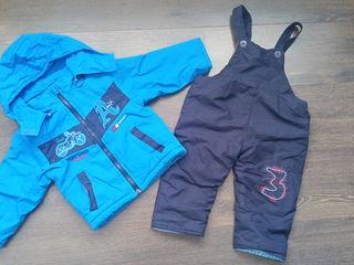 Комбинизоны и куртки для мальчика