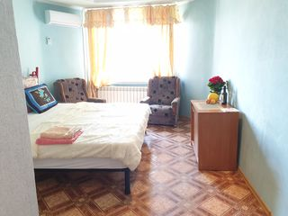 We rent daily and / or monthly, in the center from 222 lei to 600 lei per day, depending on the term