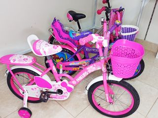Biciclete pentru fete 2-9 ani / Велосипеды для девочек 2-9 лет