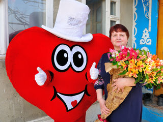 Livram flori cadouri si emotii pozitive Surprize la domiciliu! in toata Moldova