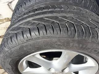 Диски Toyota оригинал + шины Uniroyal RainExpert (комплект)
