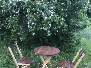 Mobilă pliabilă pentru grădină, terasă, cafenea