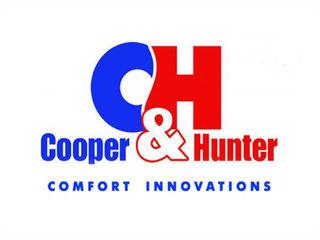 Кондиционеры Cooper&Hunter в Молдове. Бытовые, промышленные. Установка. Гарантия 5 лет.
