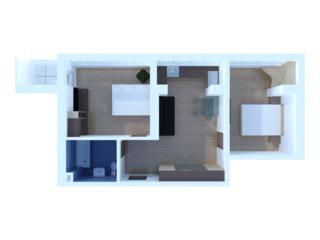 Apartament cu 2 odai in zona centrala a or. Durlesti. Bloc nou