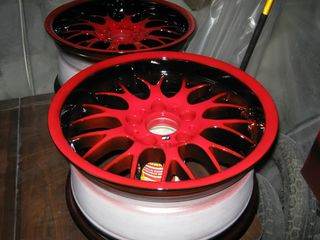 Покраска дисков  качественно