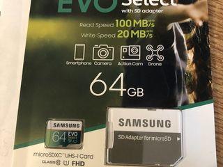 Micro SD Samsung Evo 64 Gb