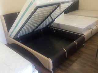 Кровати! Скидки! Кожаная кровать в стиле Хай-Тек! Цены от 2500 лей! Продажа в кредит!