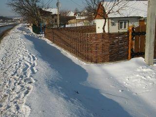 Gard impletit din nuiele