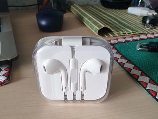 Casti Apple EarPods, Lightning, White, iPhone 7/8/X, cu microfon, Albe, Originale!