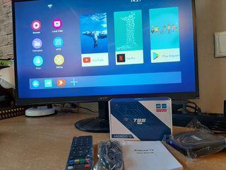 Tvbox T95Super на Android 10 с  Airmouse G10 по отличной цене с доставкой и гарантией.