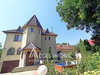 Casă în 3 nivele! Buiucani, bd. Alba Iulia/str. Florești, 356m2+7 ari. Euroreparație!