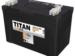 Авто аккумулятор Titan Asia EFB 6СТ-100.0 VL 900 A