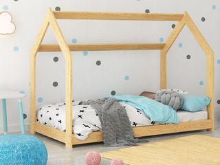 """Хит 2021 года! Кровать """"Домик"""" из натурального дерева со скидкой 10%! Доставка по Молдове бесплатно!"""