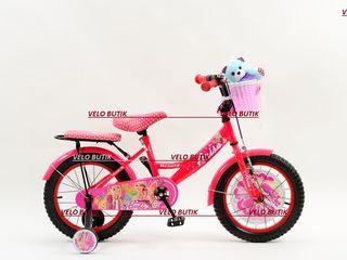 Biciclete pentru copii cu vârsta între 4-6 ani. livrare toata moldova.garanție 18 luni.
