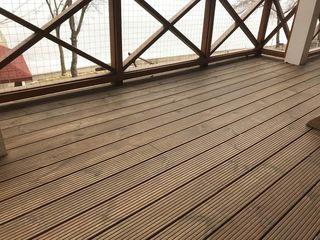 Scindura pentru terasa din lemn de pin - 290 lei/m2