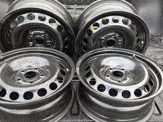 Диски стальные VW, Audi, Skoda, R15-R16 , 5x100/ 5x112/Continental - 205-55-R17, Michelin 205-55-R16