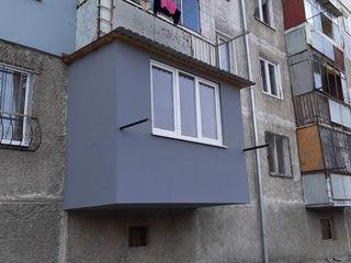 Extinderea balcoanelor, reparație balcon, reconstrucție completă, balcoane la Cheie, ferestre PVC!