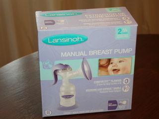 Новый молокоотсос Lansinoh - бесплатная доставка!
