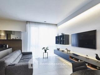 Chirie apartament modern in Centru,2 dormitoare + living.Linga Parc,str.Mateevici.