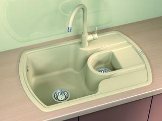 Раковина для кухни, Бренд: (Florentina), Модель (NIRE - 760K). Качество Премиум. Гарантия 20 лет