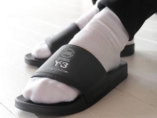 Тапочки Adidas Y-3 Adilette Slides Black Unisex