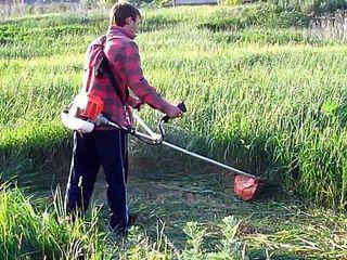 Бельцы. Косим траву, бурьян заросшие участки. Вывоз мусора.