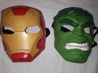 "Mască pentru copii,  ""Hulk "", ""Iron Man"""