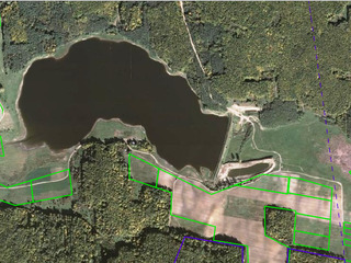 Vând iaz în r-nul Ungheni pe o suprafață de 18 ha