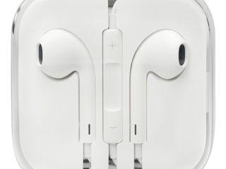 Apple наушники оригинал, новые запечатанные - 450 лей Apple iPhone 7-8-9-10!