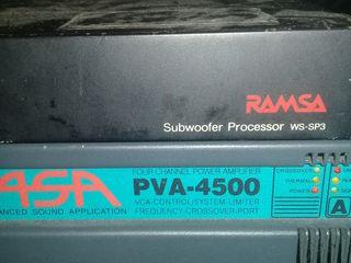 Amplificator ASA PVA4500 2X1000 , Electrovoice q44