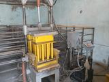установка для производства брусчатки