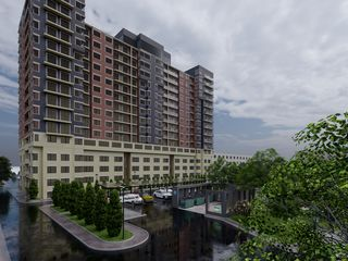 Apartamente cu 1,2 sau 3 odăi/parcul valea trandafirilor / de la Compania de Construcție